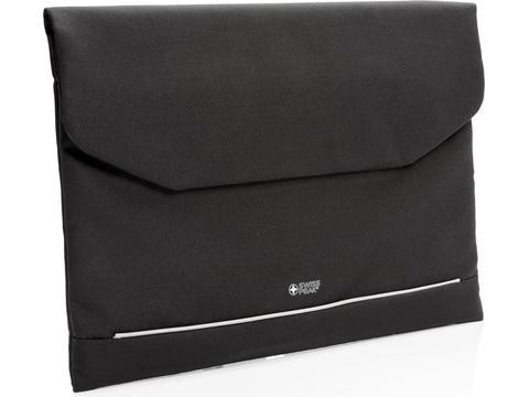 "Swiss Peak RFID 15.6"" laptop sleeve PVC-vrij"