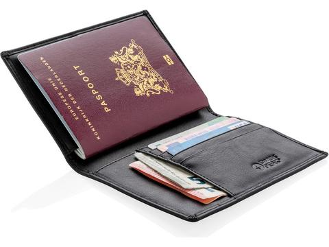 Swiss Peak RFID anti-skimming passport holder