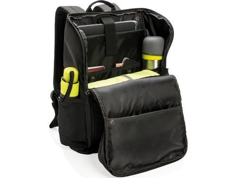 """Swiss Peak RFID easy access 15"""" laptop backpack"""