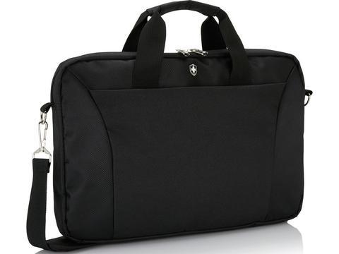 Swiss Peak slim 15.4 inch laptop tas