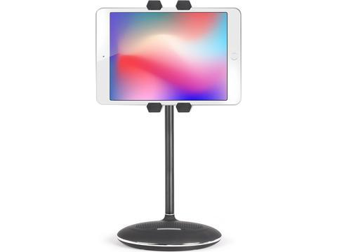 Support tablet haut-parleur