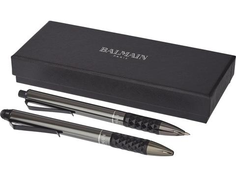 Tactische grip duo pen cadeau set Balmain