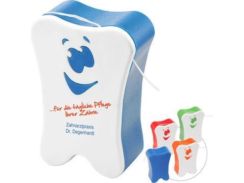 Dental-floss Smiley
