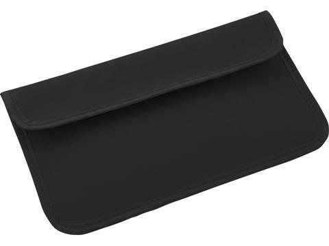 Telefoonhouder tasje met RFID kenmerken