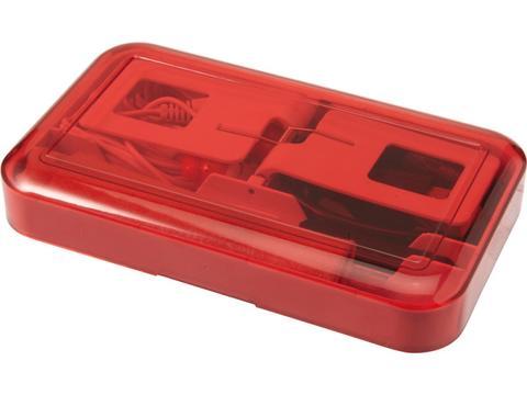 Mobile phone travel set
