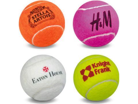 Tennis Balls Game Play