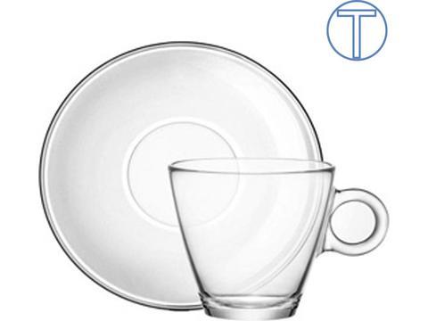Theeset met kop en schotel - 32 cl