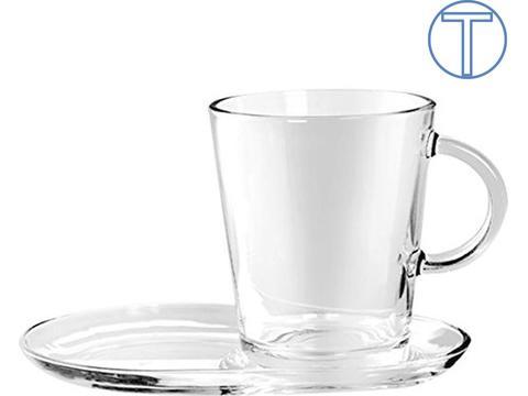 Theeset met kop en schotel - 40 cl