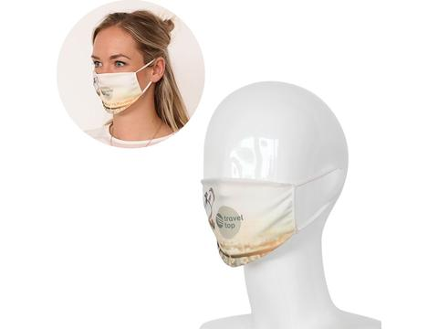 Masque réutilisable en sublimation fabriqué en Europe