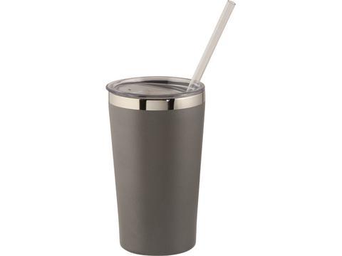 Thor koper vacuüm geïsoleerde drinkbeker - 475 ml