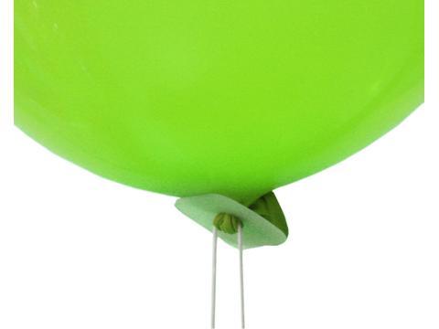 Polyband voor helium gevulde ballonnen