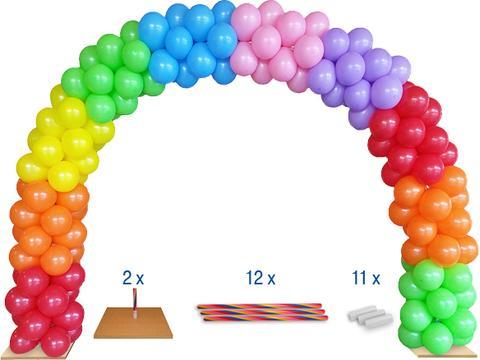 Ballonboog + 1.000 onbedrukte ballonnen