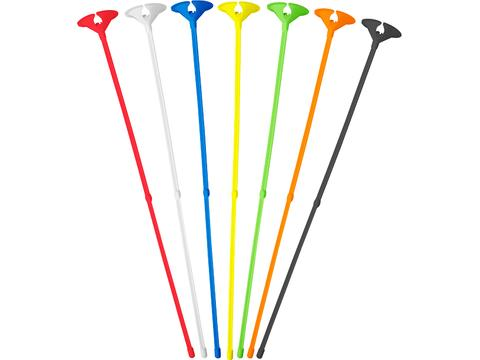 Balloon sticks with holder