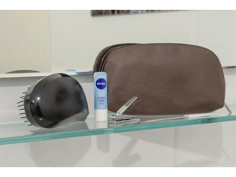 Apple Leather Toiletry bag / Pencil Case