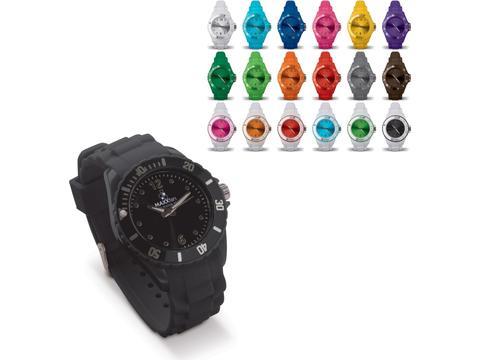 Trendy siliconen horloge op maat