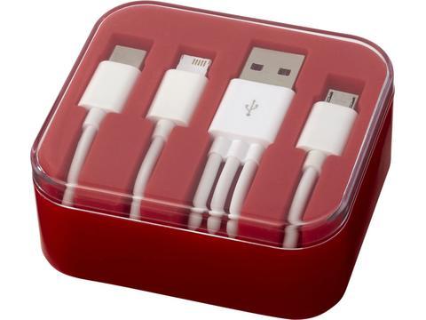 Cable de chargement 3 en 1