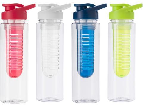 Tritan water bottle with infuser - 700 ml