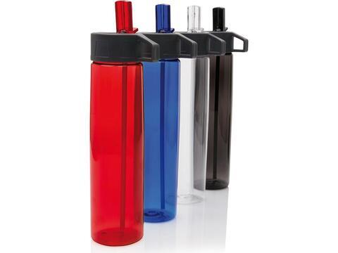Tritan bottle with straw - 750 ml