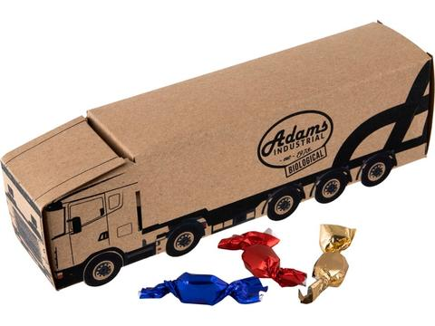 Truck Kraft with metallic sweets