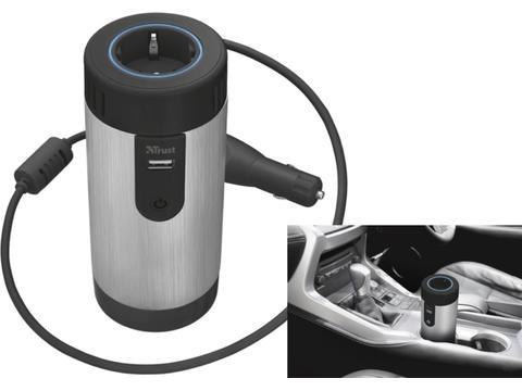 Trust 230V stroom omzetter voor in de auto