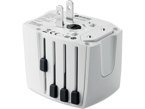 World Adapter MUV USB