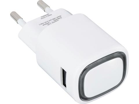 USB Adapter met logo verlichting