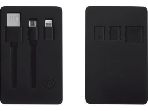USB card with flashlight