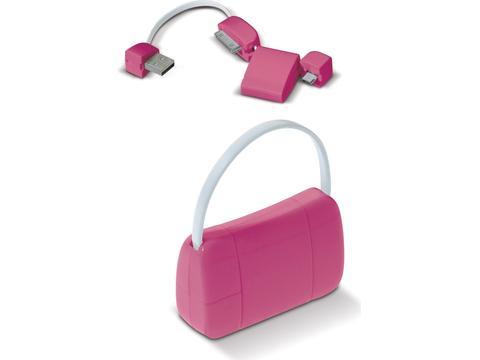 USB connector Lady Bag