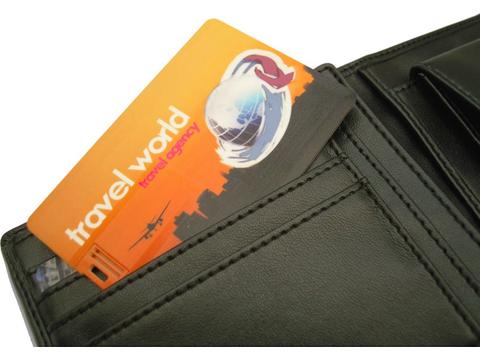 USB Credit Card - 16GB