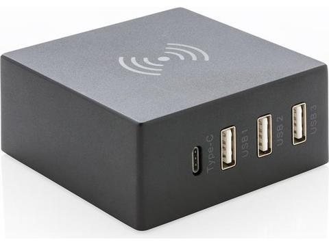 USB en 10W draadloze oplader
