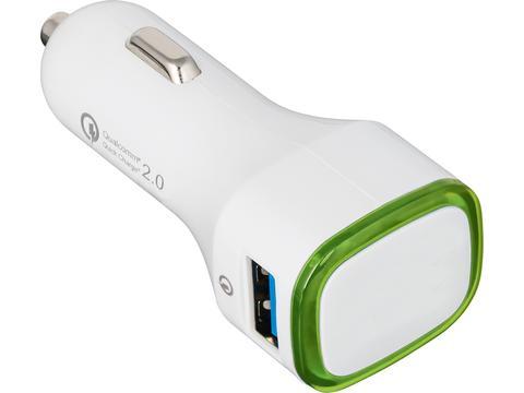 USB snellader voor in de auto met Quickcharge 2.0