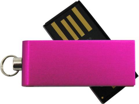 Micro Twist USB stick - 4GB