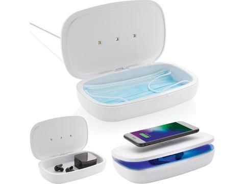 UV-C steriliser box with 5W wireless charger