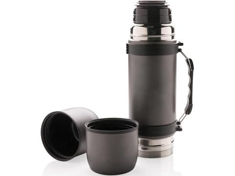 Vacuüm thermos fles met 2 bekers - 700 ml