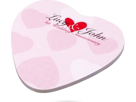 Bic Ecolutions Sticky Note Valentine