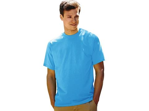 Value Weight colour T-shirt with short sleeves