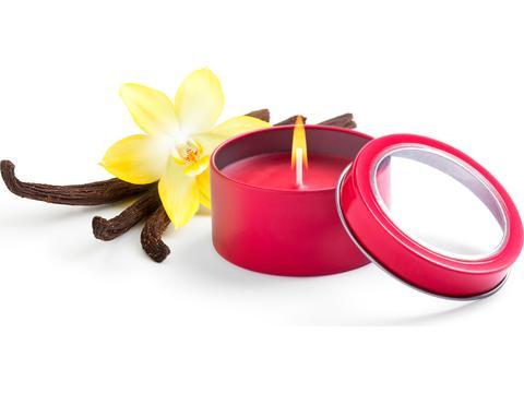 Aromatic Candle in an metallic jar