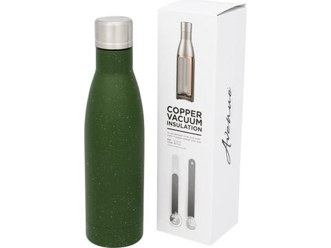 Vasa speckled copper vacuum insulated bottle