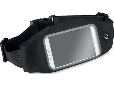 Waist bag with reflective details