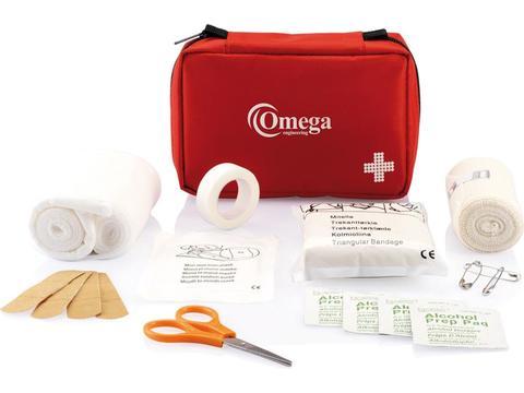 Kit de premiers soins de la taille d'une enveloppe