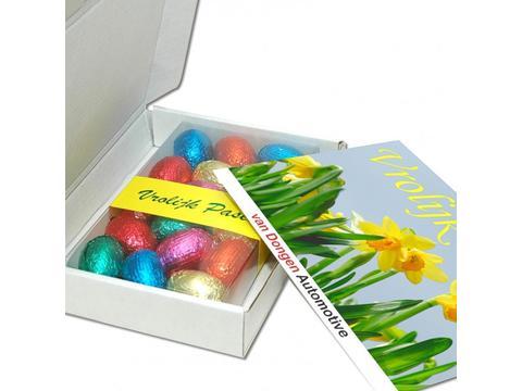 Boîte d'expédition Pâques 150g avec oeufs de Pâques