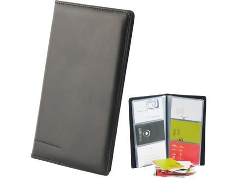 Business card folder for 96 business cards