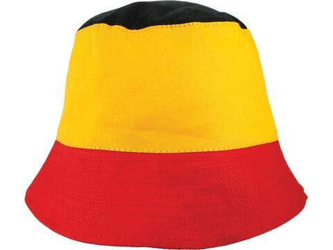Chapeau de peche couleurs nationales