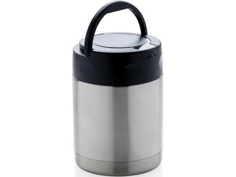 Vacuum insulated food container