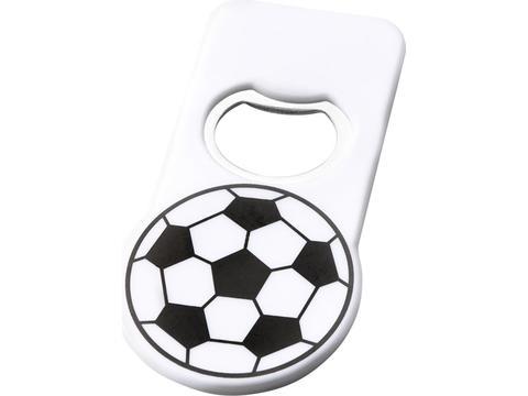 Voetbal flessenopener met magneet