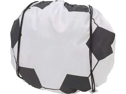 Backpack in the shape of a football