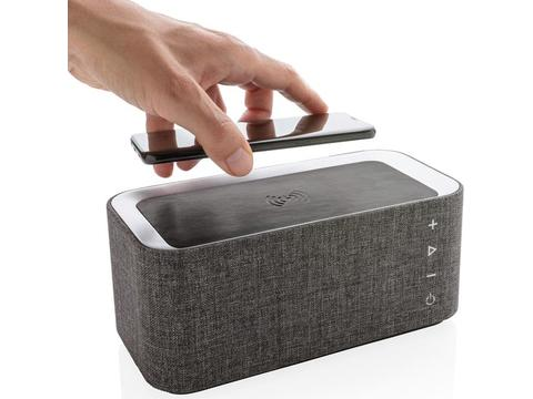 Vogue wireless charging speaker