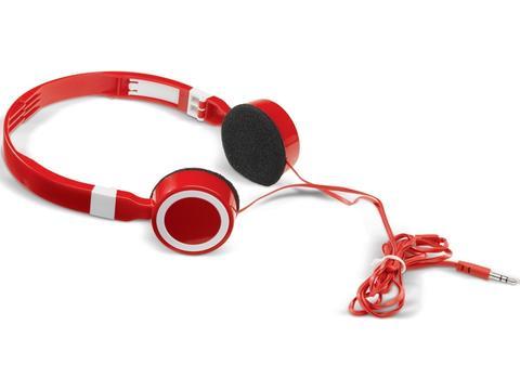 Vouwbare en verstelbare koptelefoon