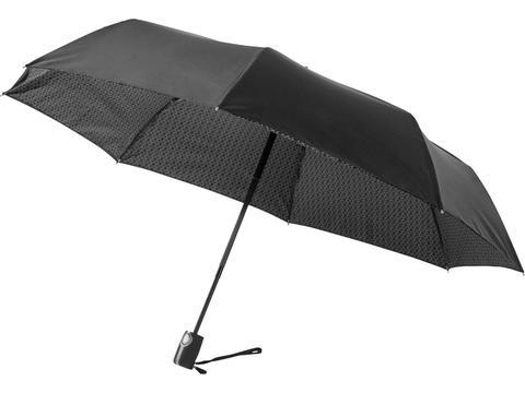 Parapluie 3 sections à ouverture/fermeture automatique 21'' Floyd