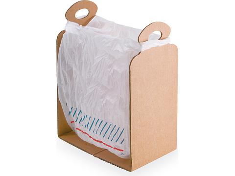 Support pour sac plastique Cart